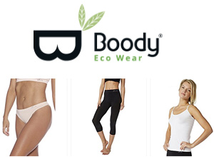 Boody bamboo clothing is seamfree, breathable, and hypo-allergenic for all day comfort.