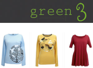 Green 3 - Certified 100% Organic Cotton, Recycled Cotton, and Pre and Post Consumer Reclaimed Materials