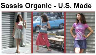 Socially Responsible ∙ Eco-Friendly ∙ Made in the USA ∙ Organic
