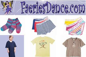Faeries Dance - Kids Eco Clothing